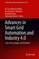 Advances in Smart Grid Automation and Industry 4.0