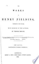 The Works of Henry Fielding Book