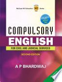 Compulsory English for Civil & Judical Services (Mains) Examination