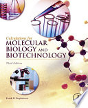 Calculations For Molecular Biology And Biotechnology Book PDF