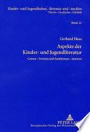 Aspekte der Kinder- und Jugendliteratur