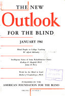 The New Outlook for the Blind