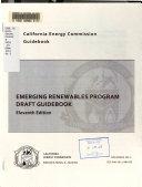 Emerging Renewables Program Draft Guidebook