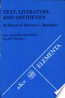 Text, Literature, and Aesthetics