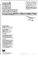 Benn s Media Directory Book