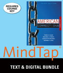 American Corrections in Brief   Lms Integrated Mindtap Criminal Justice  6 month Access