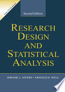 Research Design   Statistical Analysis Book