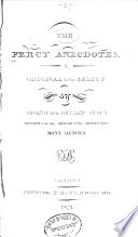 The Percy Anecdotes  George III   family  Fine arts
