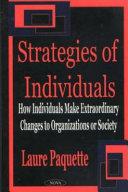 Strategies of Individuals Book