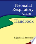 Neonatal Respiratory Care Handbook Book PDF