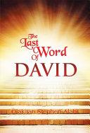 Pdf THE LAST WORDS OF DAVID