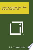 Human Nature and the Social Order