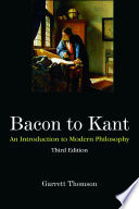 Bacon to Kant