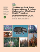 The Western Bark Beetle Research Group Book