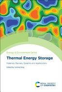 Thermal Energy Storage Book PDF