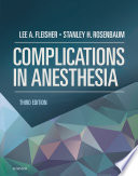 Complications in Anesthesia E Book