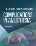 Complications in Anesthesia E-Book Pdf/ePub eBook