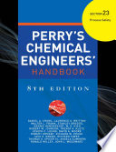Perry S Chemical Engineer S Handbook 8 E Section 23 Process Safety Pod  Book PDF