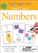 Alphaprints  Wipe Clean Flash Cards Numbers
