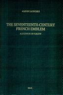 The Seventeenth-century French Emblem