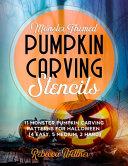 Monster Themed Pumpkin Carving Stencils