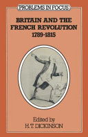 Britain and the French Revolution, 1789-1815