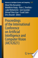 Proceedings of the International Conference on Artificial Intelligence and Computer Vision  AICV2021