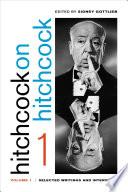 Hitchcock on Hitchcock  Volume 1