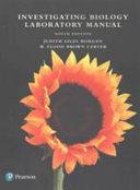 Investigating Biology Laboratory Manual Book