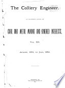 Colliery Engineer  , Volume 12