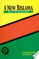 A New Bislama Dictionary