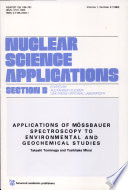 Applications of Mössbauer Spectroscopy to Environmental and Geochemical Studies