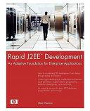 Rapid J2EE Development