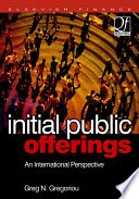 Initial Public Offerings Ipo