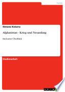 Afghanistan - Krieg und Neuanfang