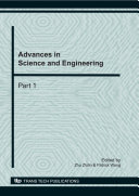 Advances in Science and Engineering
