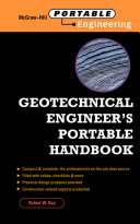 Geotechnical Engineer s Portable Handbook