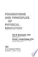 Foundations and principles of physical education