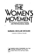 The Women s Movement  Political  Socioeconomic  and Psychological Issues