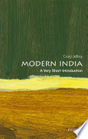 Modern India  A Very Short Introduction