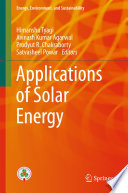 Applications of Solar Energy