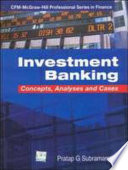 Investment Banking Concepts  Analysis   Cases
