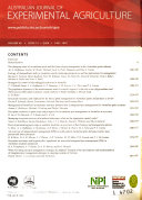 Australian Journal of Experimental Agriculture ebook