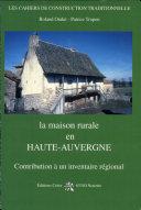 Pdf La maison rurale en Haute-Auvergne Telecharger