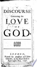 A Discourse Concerning the Love of God