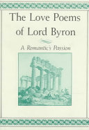 The Love Poems of Lord Byron