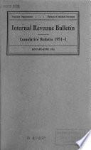 Internal Revenue Bulletin Book