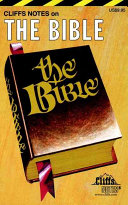 Cliffs Notes On The Bible Book