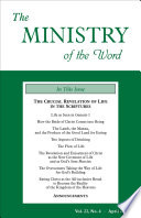 The Ministry Of The Word Vol 22 No 4