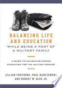 Balancing Life and Education While Being a Part of a Military Family